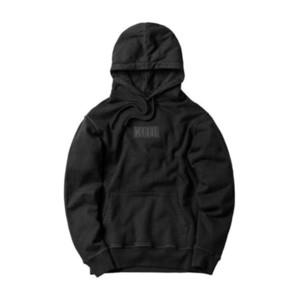 Hohe Qualität Dicke Kith Box Hoodie Männer Frauenembroide Schwarz Rot Rosa Kith Sweatshirts Beiläufige Lose Pullover X1214