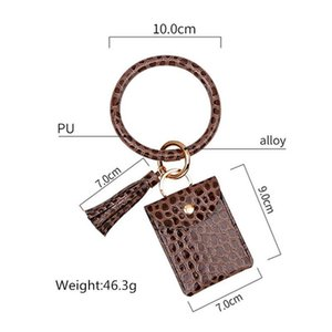 1pcs New Bracelet Key Chain Leather Tassels Diy Curtain Garment Clothes Women Bag Craft Supplies Classical Style Tassel Pendant H jllswW