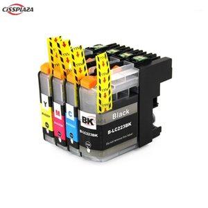 Чернильные картриджи Cissplaza 4Colors LC223 LC221 Совместимый картридж для брата MFC-J4420DW / J4620DW / J4625DWJ480DW / J680DW / J880DW принтер1