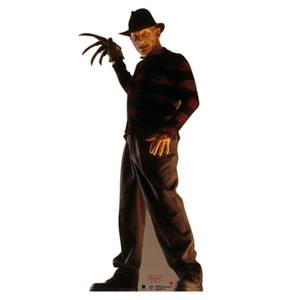 FREDDY KRUEGER - OUTDOOR LIFE SIZE STAND-UP BRAND NEW HALLOWEEN DECORATION 2637