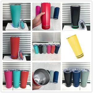 8 couleurs 18 oz Bluetooth bouteille d'eau en acier inoxydable Smart Buvière coupe avec haut-parleur Bluetooth USB Charging Tasse portable Meilleurs cadeaux