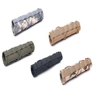 Tactical Nylon 22cm Heat Protect Cover Shield Sleeve Outdoor Pouch bag