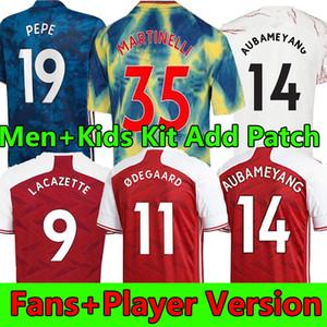 20 21 Ødegaard Futbol Forması 2020 2021 Arsen Hayranları Oyuncu Sürüm Pepe Saka Nicolas Ceballos Maitland-Niles Erkekler + Çocuk Kitleri Futbol Gömlek