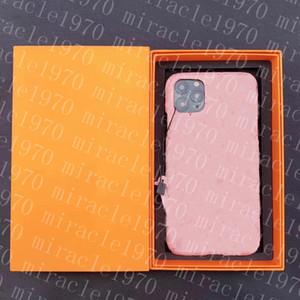 Модные дизайнеры 12 PRO Телефон Case Luxury iPhone Cover Повседневная марки для плюс 7 8 7P 8P X XS MAX XR 11 SE2020 Pro с коробкой 20062806CE