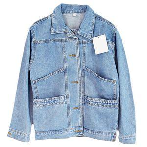 2020 Women Basic Coat Denim Jacket Women Spring And Autumn Denim Jacket For Coat loose fit casual style C229
