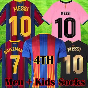 Rosa Fußball Jersey 20 21 Camiseta de Futbol Black 2020 2021 Maillots de Football Hemd Männer Kinder Kits Socken