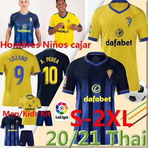 نادي قادش camisetas دي فوتبول LA LIGA 2020 2021 كاديز لكرة القدم بالقميص chándal LOZANO ALEX Bodiger خوان كالا MEN KIDS زي مجموعات كرة القدم 2X