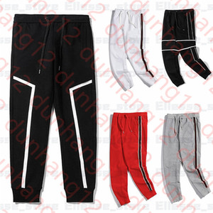 New 20ss Mens Designer Pants Branded Sports Pant Top Quality Fashion Side Stripe Sweatpants Joggers Casual Streetwear Trousers Clothes
