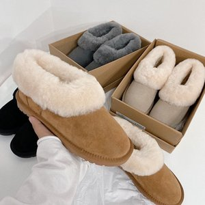 New Arrived Mini Women Shoe Winter Fur Wool Cowskin Nita Snow Boot Classic Casual Short Boots Luxurys Designers Shoes