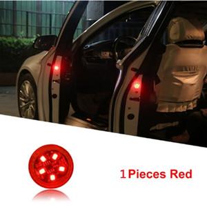Universal LED Car Opening Door Safety Warning Anti-collision Lights Magnetic Sensor Strobe Flashing Alarm Lights Parking Lamp