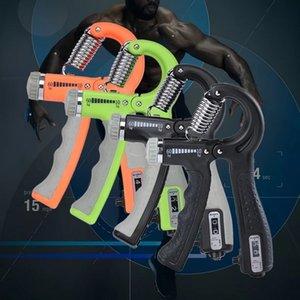 R-Shape Réglable Hand Grip Sport Force Sports Comptable Exercice Restaurant Gripper Printemps Doigt Pinch CARPALE EXPANQUANT Q0109
