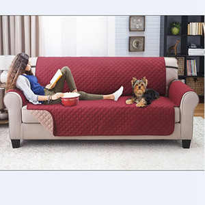 Household Dirt-Proof Fashion Sofa Cushion 1 2 3 Seat Pet Sofa Cover Mat Waterproof Non Slip Covers Mat Washable Sofa Cover VTKY2366