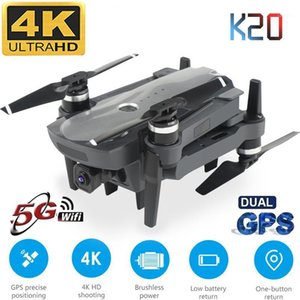 New Drone K20 With Brushless Motor 5G GPS 4K HD Dual Camera Professional Foldable Quadcopter 1800M RC Distance Toy Boy's Gift1