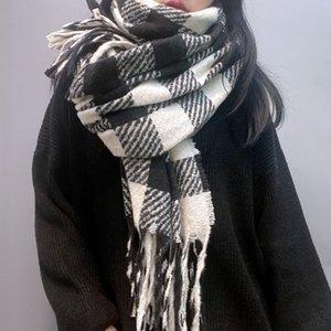 08uo Pom Australia Письмо зима POM FLEECE CLINED с вязаной повседневной шерстью теплые шансы шансы шарфы для мужчин