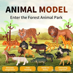 Jungle Animal for Kids Toy Model One-On World Simulation Norities Animal Errich