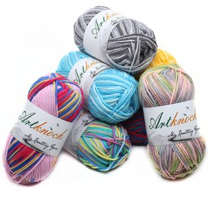12pcs Fancy Fancy Fancy Mix Colors Melange Filo Strings Cotton Bled Fitary Beautiful For Hand Knitting Maglione T200601