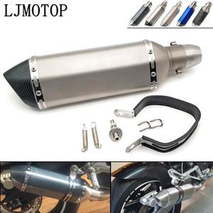 Sourffleur d'échappement de moto universel 36-51mm avec tueur DB pour CRF1000L Africa Twin CB400SF CB190R Grom MSX1251