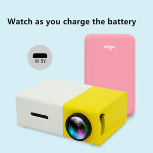 Smart High-Definición Proyector LED Ultra-Clear Wireless Mobile Webs Miles Movies Wall Small TV Mini-Proyector