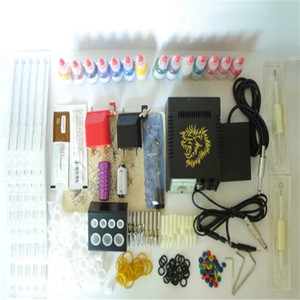 beginner tattoo kit set permanent makeup tattoo manufacturers 2 tattoo gun