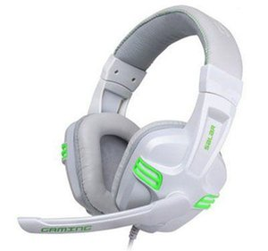 Adjustable 3.5mm Professional Gaming Headphone Headset Low Bass Stereo with Mic Wired for PC Laptop Computer