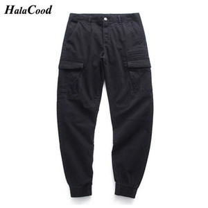 HALACOOD 2021 Joggers Sweatpants Men Casual Pants Solid Color Gyms Fitness Workout Sportswear Trousers Autumn Male Track Pants