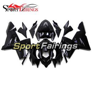 Moto ABS Fairings per Kawasaki ZX 10R 2004 2005 ZX10R 04 05 Cover del corpo iniezione Completo Kit di carrozzeria Gloss Black