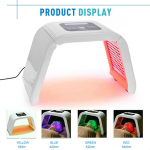 الجملة 4 ضوء LED قناع الوجه قناع PDT ضوء للعلاج الجلد آلة الجمال ل الوجه معدات التجميل