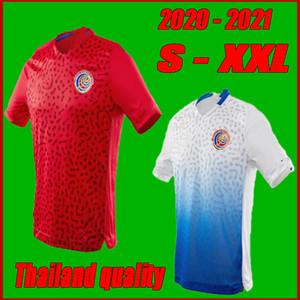 Talla S-XXL 20 21 Costa Rica Jerseys de fútbol Inicio 20 21 M.URENA NAVAS H.WASTON CAMPELL BRYAN LA COMADREJA Camisa de fútbol