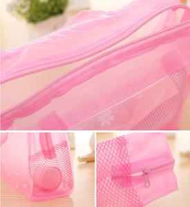 Vente chaude fermeture à glissière blanche pour sacs cosmétiques accessoires de haute qualité Cas de fermeture à glissière Sacs
