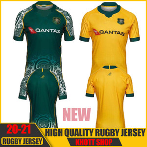 Nueva Mejor Qualidad 2020 2021 Australia Wallabies Jersey 20 21 Jerseys Rugby National Rugby League Shirt Walabies Australian Walabies ST-3XL