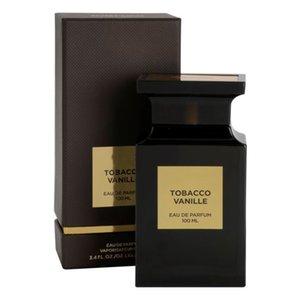 Tabak Vanille Parfüm Duft für Mann Frau Tabak-Tabak Oud Ford Soleil Blanc-Parfak-Spray 100ml Tom-Parfüm Hohe Qualität Freies Verschiffen