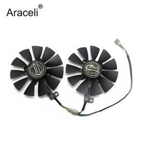 88mm FDC10U12S9-C 0.45A Kühlerlüfter für Asus GTX1060 1070 TI RX 470 570 580 Dual OC Graphics Card Everflow Cooling Fans