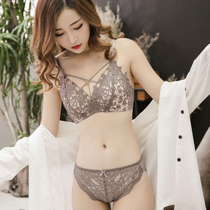 Small Breasts Sexy Underwear Women Gather, Adjust The Type of Breastfeeding Thin Bra, Women's Sexy Underwear Without Steel Ring