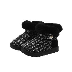 2020 Winter princess girls boots baby boots kids boots keep warm snow boot kids shoes baby shoes girls shoes ankle boot retail B3031