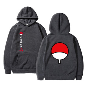 2020 Anime Naruto Cosplay Jackets Clothes Costumes Men Hoodies Sweatshirts Uzumaki Akatsuki Haruno Sakura Hat Clothing Tops Y1112