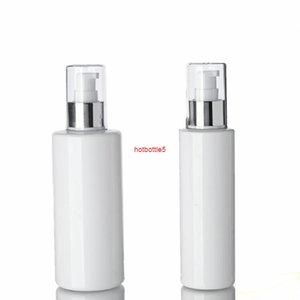 30pcs 150ml / 250 ml de la bouteille d'aluminium d'aluminium anodisé argent vide Emulsion blanche 150cc