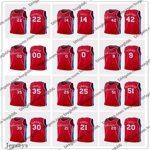76ers personnaliséscrême PhiladelphiaHarris Embiid 22 Thybulle 25 Simmons Basketball Jerseys Tobias Joel Ben Matisse Déclaration Jersey
