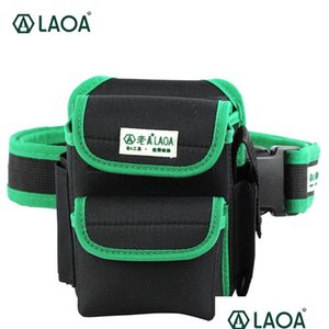 Laoa Multifunction Tool Bag 600d Double Layers Oxford Fabric Repair Bags Waist Pack Bag For Electrician Ho qylgTG dhsybaby