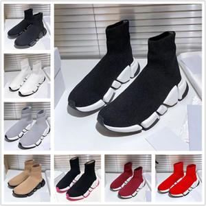 SPEED 2.0 Sock Shoes Men Women Speed Trainer Designer Sneakers Speed Trainer Popular Sock Race Shoes Fashion Grey Sock Trainers