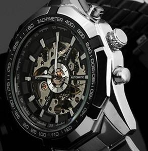 2021 Новый Победитель Люкс Спортивные Часы Мужчины Автоматические Часы Скелет Военные Часы Механический Relogio Мужской Монр Часы Мужские Relojes