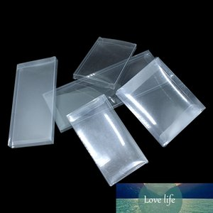 30Pcs  Lot Transparent Plastic Box for Favor Party Small Gift Packaging Pen Display Clear PVC Boxes Business Card Box Supplies