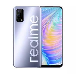 Original RealMe Q2 5G Téléphone mobile 6GB RAM 128GB ROM MTK 800U OCTA CORE Android 6.5 pouces Plein écran 48MP AI Tired TirePrint ID Smart Cell Phone