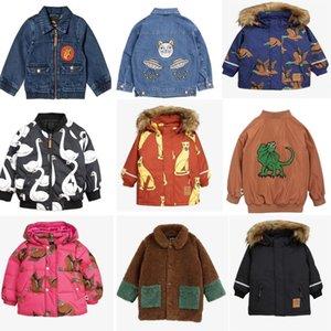 Çocuk Ceket Kış Strafina Erkek Kız Kalın Pamuk Ceket Bebek Bebek Hayvan Kapüşonlu Ceket Giyim Çocuk Giyim Palto 201104
