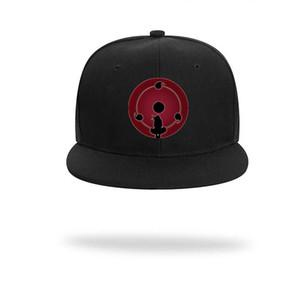 Naruto мужская шапка Uchiha Itachi Manga Hiphop Hat мода капота аниме регулируемая мальчик девочка Cap Cool Harajuku Hats новые повседневные колпачки