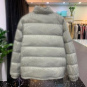 Hot Selling Gray Classic Winter 20FW Down Jacket Warm Cotton High Fashion Jacquard Street Men Women Printed Jacket End Full Outdoor Out Xtep