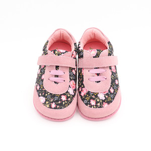 TipsieToes Marken-Qualitäts-Art und Weise Gewebe-Stitching-Kind-Kind-Schuhe für Jungen und Mädchen 2020 Frühlings Barfuß Turnschuhe Y1117