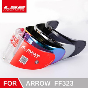 100% original LS2 FF323 motorcycle helmet visor suitable for LS2 ARROW carbon fiber helmet chameleon silver black Lens1