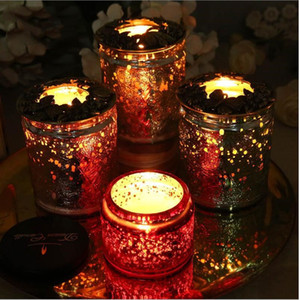 Iron art Candle cover Heat-resistant anti-wall (Apply to Yankee Candle scented candle) Exquisite metal cover inner outer cover T200319