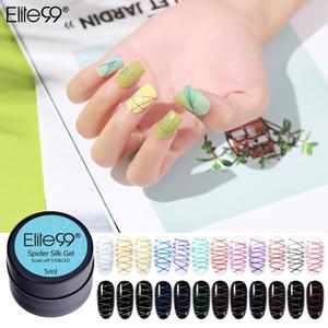 Elite99 5ml Alambre de alambre Gel de uñas Lacado de la laca Gel Barniz Punto a la línea Tirar Silk Spider Creative Nail Art Polish
