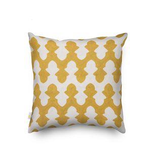 Большие полистерские хлопковые желтые и серые подушки подушки чехлы 50 см х 50см